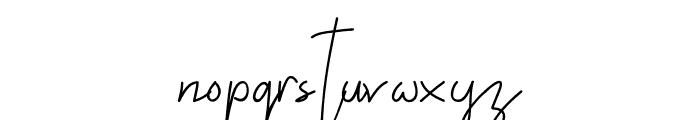 ALDITH Script Font LOWERCASE