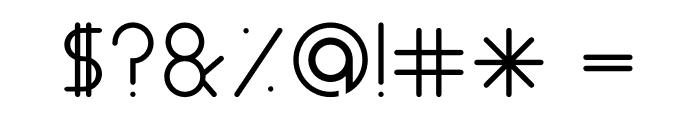 ALDORA Font OTHER CHARS