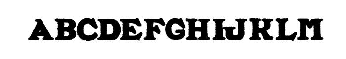 ALFRED LA MOULE Font UPPERCASE