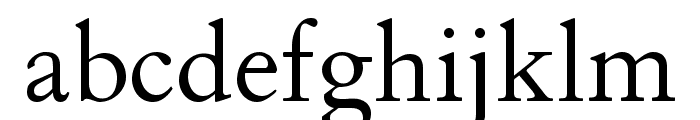 ALPHA-Demo Font LOWERCASE