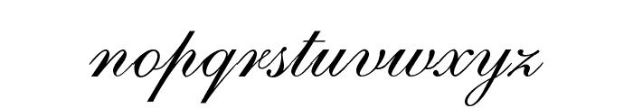 ALS Script Font LOWERCASE