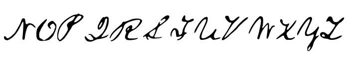 ALincolnFont Medium Font UPPERCASE