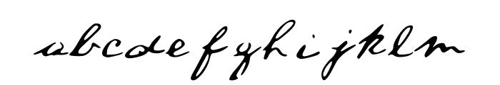 ALincolnFont Medium Font LOWERCASE