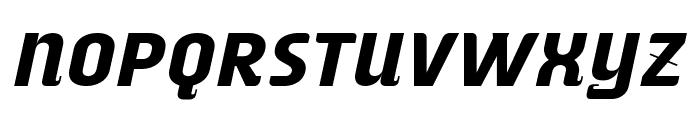 ALusine Oblique Font UPPERCASE