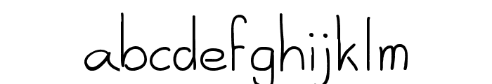 Al-seana Font LOWERCASE