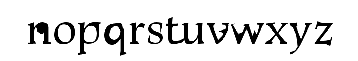 AlSabro Font LOWERCASE