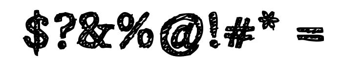 Alabama Font OTHER CHARS