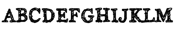 Alabama Font UPPERCASE