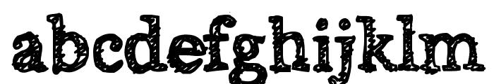 Alabama Font LOWERCASE