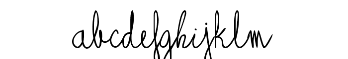 Alagunna Font LOWERCASE