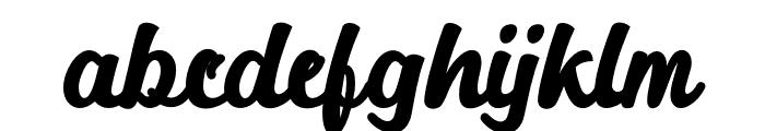 Alakita-Regular Font LOWERCASE