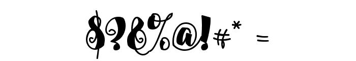 Alamark Lite Free Font OTHER CHARS