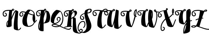 Alamark Lite Free Font UPPERCASE