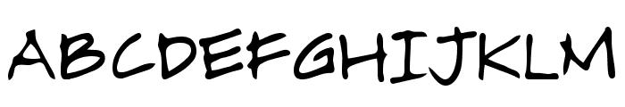 Alamendro FG Font UPPERCASE