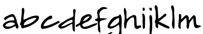 Alamendro FG Font LOWERCASE