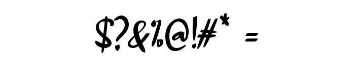 Alangkah_ Font OTHER CHARS