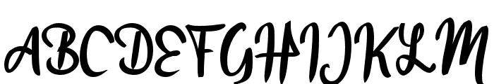Alangkah_ Font UPPERCASE