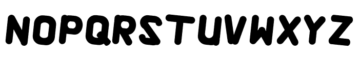 Alaqua Italic Font UPPERCASE