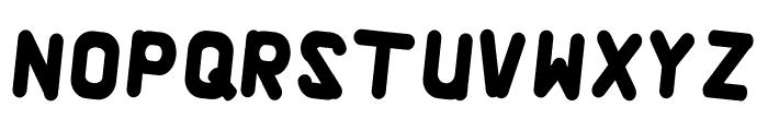 Alaqua Italic Font LOWERCASE