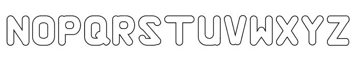 Alaqua Outline Font UPPERCASE