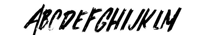 Alask Font UPPERCASE