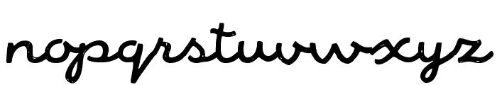 AlaskaScriptDemo Font LOWERCASE