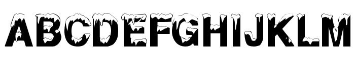 AlaskanNights Font UPPERCASE