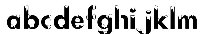 AlaskanNights Font LOWERCASE