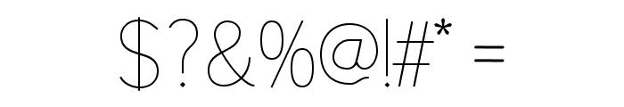 Alazne Light Font OTHER CHARS