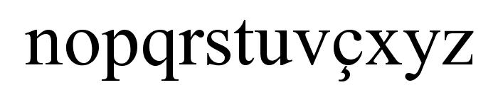 Albanian Font LOWERCASE