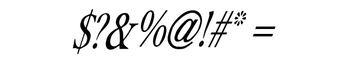 Albatross Italic Font OTHER CHARS