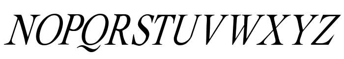Albatross Italic Font UPPERCASE