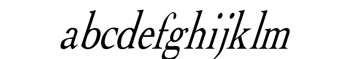 Albatross Italic Font LOWERCASE