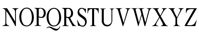 Albatross Regular Font UPPERCASE