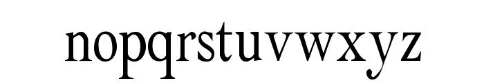 Albatross Regular Font LOWERCASE