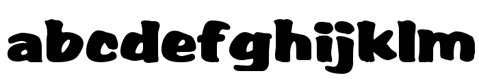 Albert Regular Font LOWERCASE