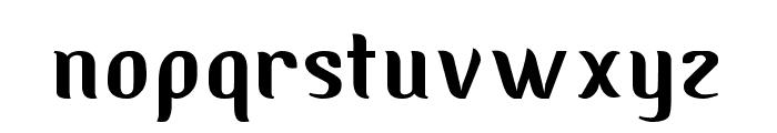 Albino Font LOWERCASE