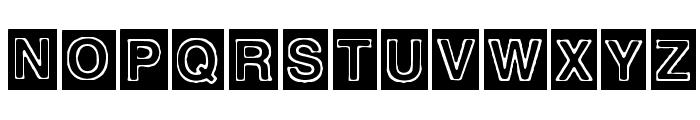 Alburquerque Font UPPERCASE