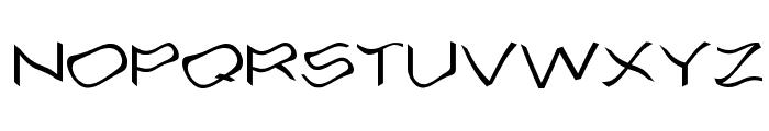 Alcohole Font LOWERCASE