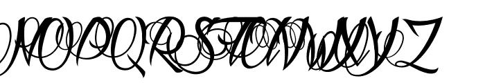 Aldebaran Font UPPERCASE