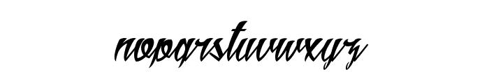 Aldebaran Font LOWERCASE