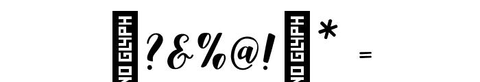 Aldine-Regular Font OTHER CHARS