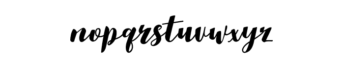 Aldine-Regular Font LOWERCASE