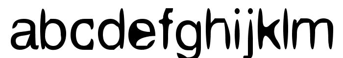Aleatoria Font LOWERCASE