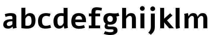 Alef Bold Font LOWERCASE
