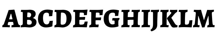 Alegreya ExtraBold Font UPPERCASE