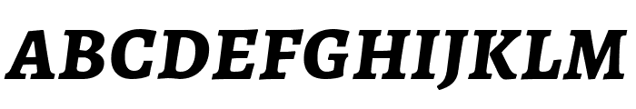 Alegreya SC Bold Italic Font LOWERCASE
