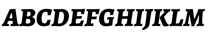 Alegreya SC ExtraBold Italic Font UPPERCASE