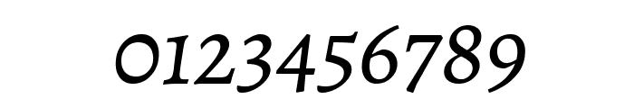 Alegreya SC Italic Font OTHER CHARS