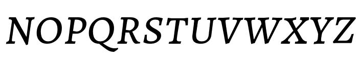 Alegreya SC Italic Font LOWERCASE
